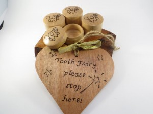 Tooth Fairy boxes and signs