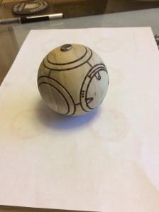 BB-8 construction